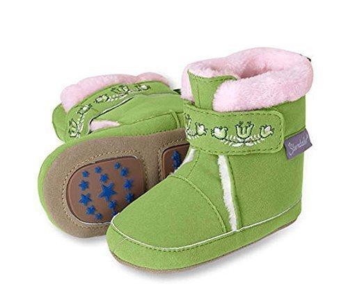 Sterntaler Baby-Schuh 17/18 (opalgrün)