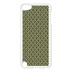 iPod Touch 5 Case White Yellow Victorian LSO7721565