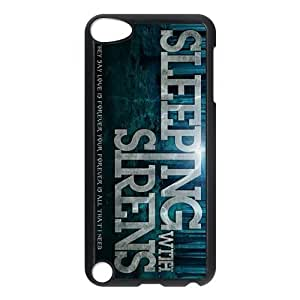 iPod 5 Case,Sleeping With Sirens Hard Snap-On Cover Case for iPod Touch 5, 5G (5th Generation)