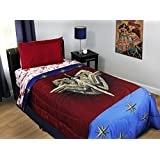Wonder Woman Twin Bedding Themyscira Comforter and Sheets