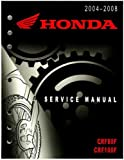 61KSJ04 2004-2008 Honda CRF80F CRF100F Motorcycle Service Manual