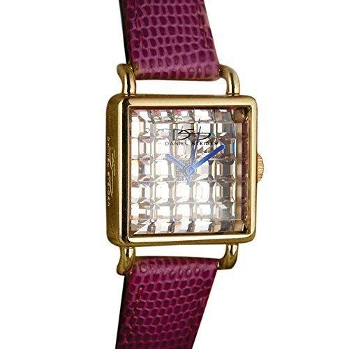 Deco Timepiece Fashion Watch - Daniel Steiger Diamondeau Deco Pink Ddw