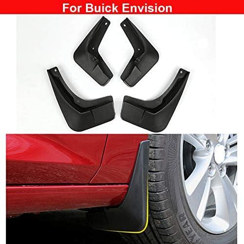 4pcs Plastic Tire Mudguard Splash Guards Mudguard Mud Flaps For Buick Envision 2016 2017 2018 2019