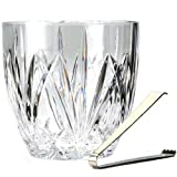 Marquis by Waterford Brookside Ice Bucket w/Tongs