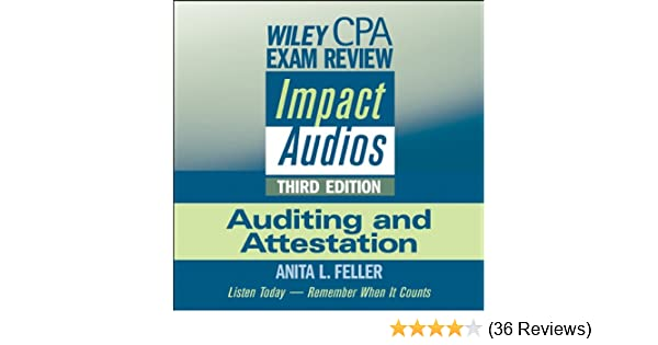 Amazon wiley cpa exam review impact audios auditing and amazon wiley cpa exam review impact audios auditing and attestation 3rd edition audible audio edition anita l feller inc wiley publishing fandeluxe Gallery