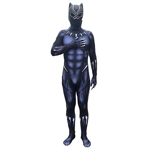 YUW Hero Black Panther Disfraz de Cosplay Halloween Navidad Body ...