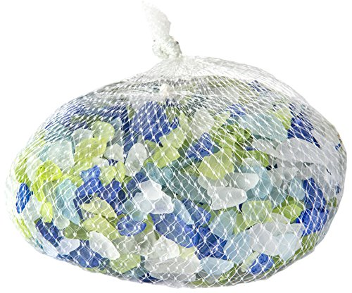 SuperMoss (24291) Sea Glass Vase Filler, 4lb, Atlantic Mix