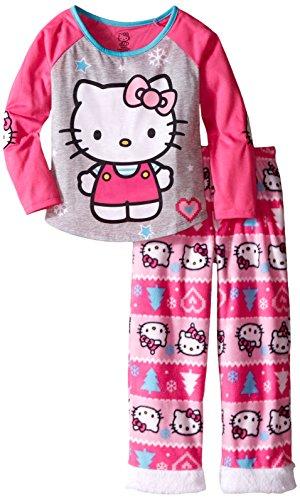 Komar Kids Big Girls' Hello Kitty 2 Piece Poly Set, Pink,...