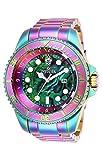 Invicta Mens 26660 Hydromax Quartz 3 Hand Green Dial Watch