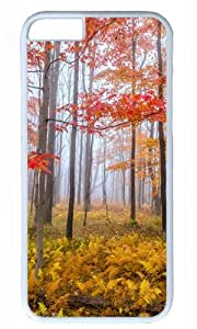 Foggy Afternoon Nature Thanksgiving Halloween Masterpiece Limited Design PC White Case for iphone 6 by Cases & Mousepads wangjiang maoyi