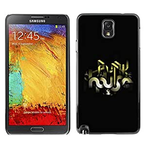 GagaDesign Phone Accessories: Hard Case Cover for Samsung Galaxy Note 3 - Abstract