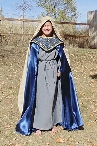 Joseph Costume For Christmas Play (Little King Wisemen Nativity Complete costume in Boys 6-8)