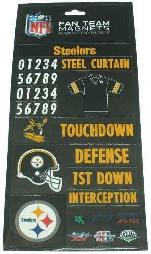 Assorted Fan Magnets - Pittsburgh Steelers