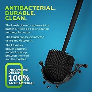 Tyroler Antibacterial Toilet Brush - durable