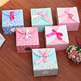 Gold Happy Party supplies fashion bow gift boxes