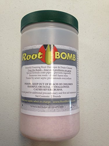 Root Bomb Foaming Root Killer Two Pound Container