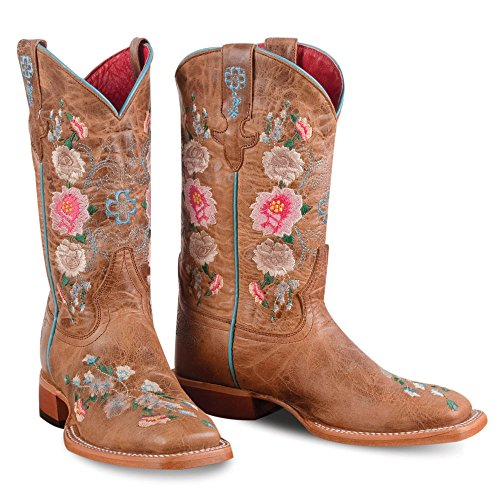 (Macie Bean Youth Honey Floral Boots )
