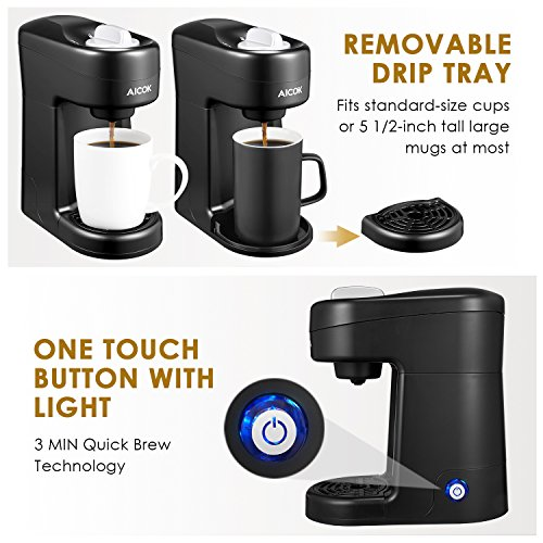 515qQ1ax2YL Aicok  Cup Coffee Maker