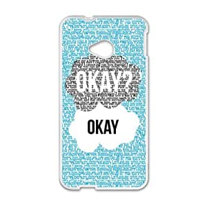 Happy Okay Design Hot Seller Stylish Hard Case For HTC One M7