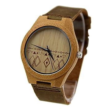 Shou & BZ La nueva madera relojes/unisex/ocio y de negocios/natural