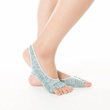 Calcetines de yoga para mujer El calcetín de yoga calienta ...