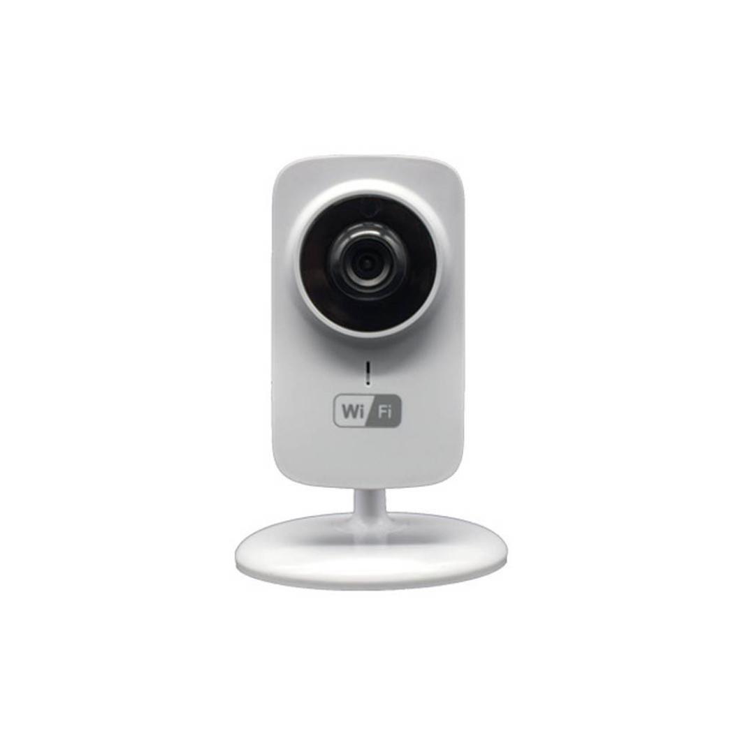 H+K+L New Smart Camera Webcam Indoor Wireless Network Camera WIFI IP Camera US Plug (White)
