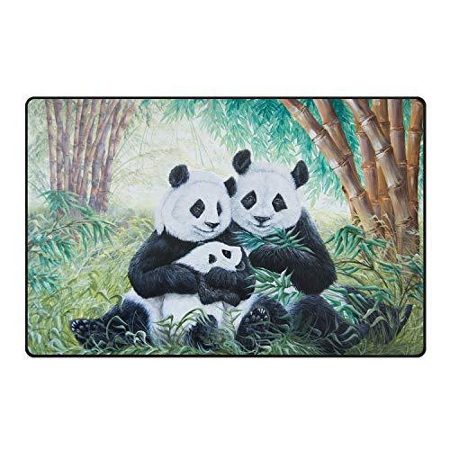 fuxinwang Door Mat Large Indoor Doormat Low Profile Stylish Mats-Panda Antivirus Free
