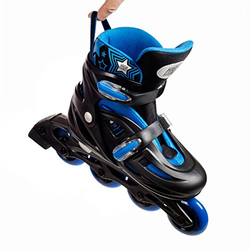 High Bounce Adjustable Inline Skate (Blue, Large (6-9) ABEC 7) by High Bounce (Image #5)