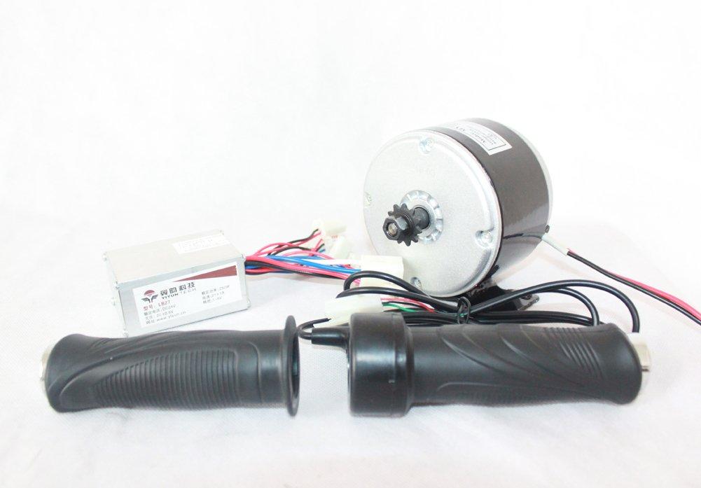24ボルト250ワット電動ブラシ付きdcモータ電動スクーターdiy 250ワットモーターキットe-バイクエンジン高速モータで11歯スプロケット [並行輸入品] B07BF7PHC9 Normal kit Normal kit