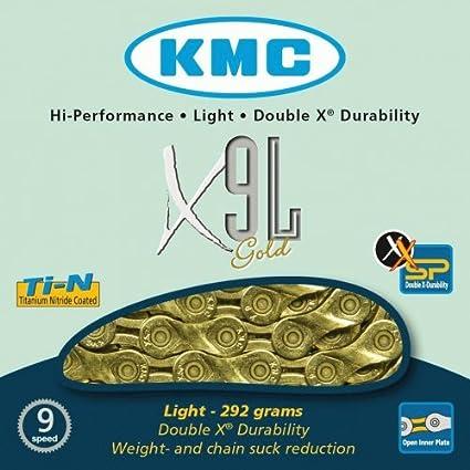 KMC X9-73 Cha/îne de v/élo /à 9 Vitesses