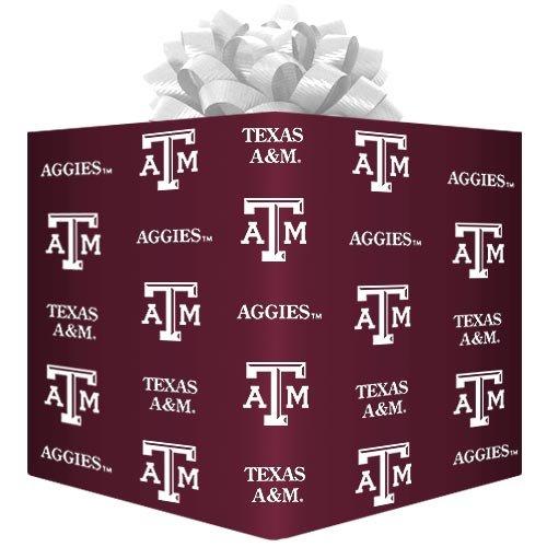 NCAA Texas A&M Aggies Logo Gift Wrap Paper - (Texas A&m Decor)