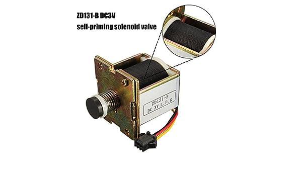 Paleo Accesorios del calentador de agua de la válvula de auto-cebado de la válvula de solenoide de corriente continua macro de cobre del calentador de agua ...