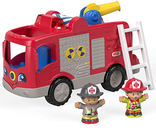 (Fisher-Price Little People, Helping Others Fire Truck)
