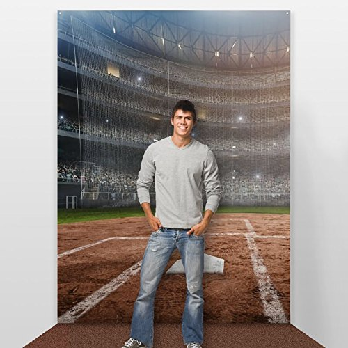 Step and Repeat LA Baseball Party Backdrop by Step and Repeat LA