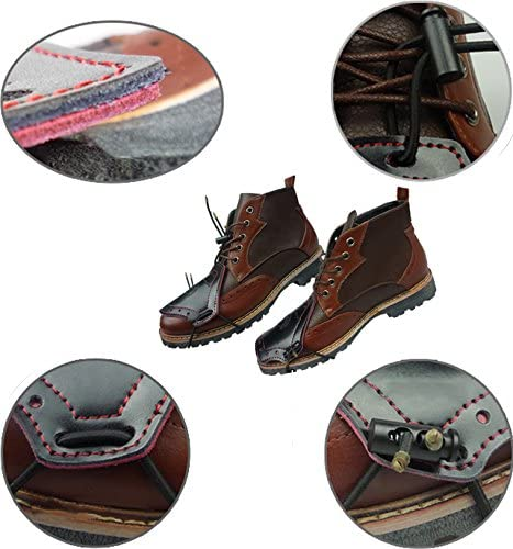 TINTON LIFE Anti-abrasion Leather Motorcycle Shoe Boot Cover Shifter Motorcycle Gear Shifter