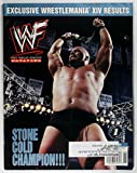 WWF World Wrestling Federation Magazine Stone Cold On Cover June 1998