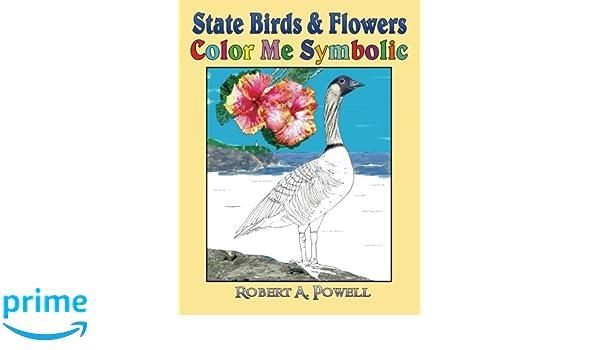 Amazon State Birds Flowers Color Me Symbolic 9781534686595