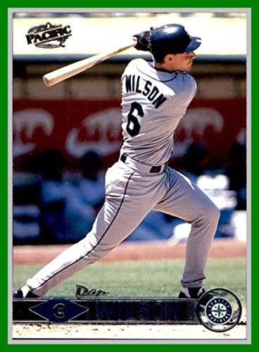 1999 Pacific #405 Dan Wilson seattle mariners by Pacific