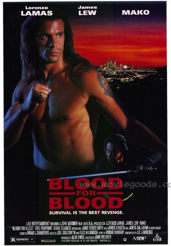 Amazon.com: Blood for blood Movie Poster (27 x 40 Inches ...