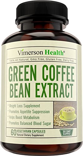Green Coffee Bean Extract Weight Loss Supplement & Appetite Suppressant. 100% All Natural, Non-Gmo, Gluten Free. Best Diet Pills That Work Fast for Women and Men. Made in the - Website Shopping Usa