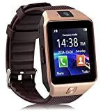 Trigent Bluetooth Smartwatch With Camera for all Android and iOS phones (Brown)