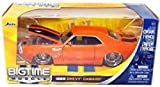 1971 Chevy Camaro Orange color with Black Stripes Diecast 1:24 - Jada Toys