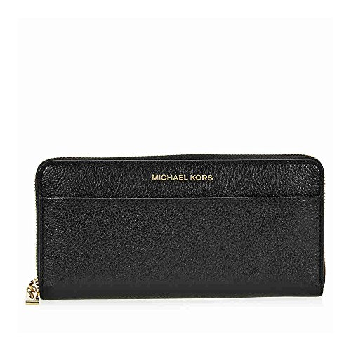 MICHAEL Michael Kors Women's Mercer Continental Wallet, Black, One Size by MICHAEL Michael Kors