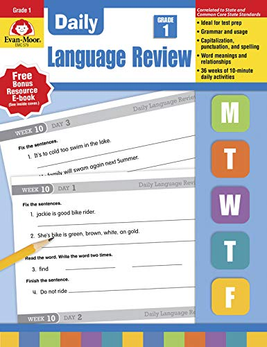 Daily Language Review, Grade 1