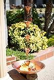 Monarch Rain Chains 29026 Copper Monarch Pure 18
