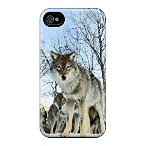 New Wolf1 Tpu Case Cover, Anti-scratch Mialisabblake Phone Case For Iphone 4/4s