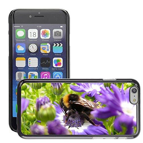 """Bild Hart Handy Schwarz Schutz Case Cover Schale Etui // M00133437 Hummel Insekt blume blumen // Apple iPhone 6 PLUS 5.5"""""""