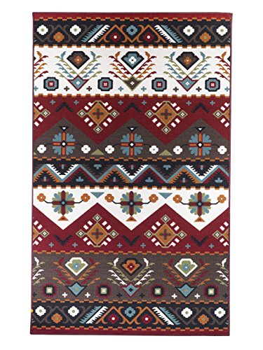 Amazon Com Area Rugs 5 X 8 Southwestern Rug Foyer Dining