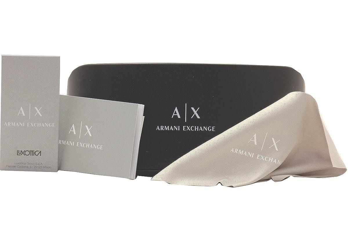 9160a78d26d0 Amazon.com  Armani Exchange AX1010 Eyeglass Frames 6001-53 - Brown AX1010-6001-53   Clothing
