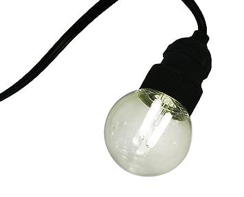 gki bethlehem lighting 10 light warm white g50 led filament outdoor patio lights end to buy gki bethlehem lighting
